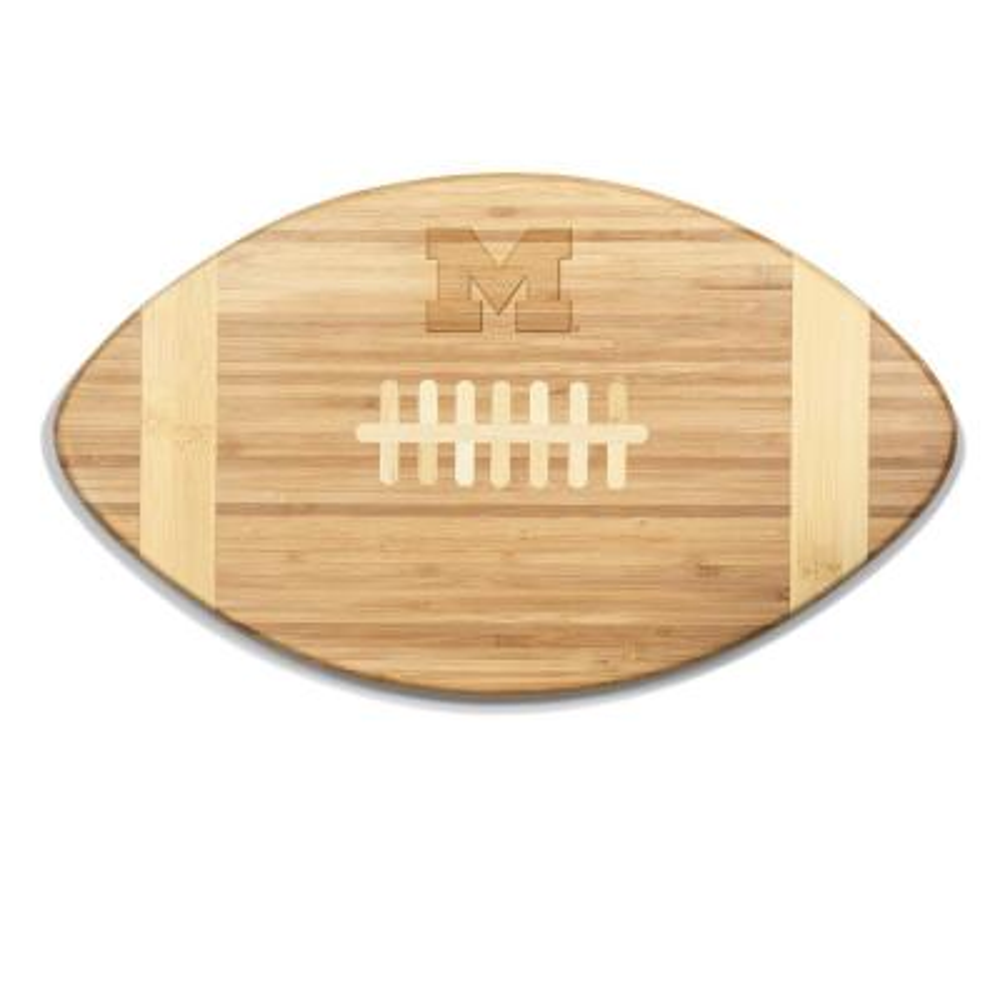 Michigan Wolverines Touchdown Bamboo Cutting Board