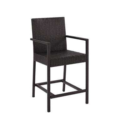 Wicker Outdoor Bar Stool Palm Harbor (2-Pack)