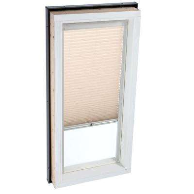Manual Light Filtering Lovely Latte Skylight Blinds for FCM 4646 and QPF 4646 Models