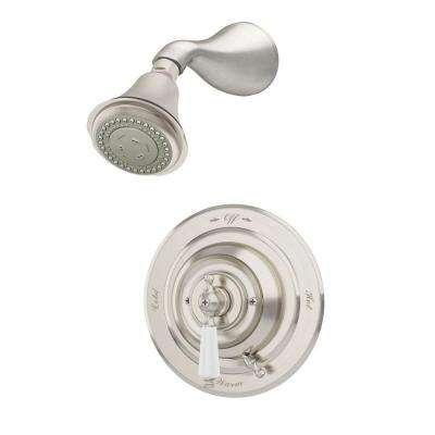 Carrington 2-Handle 3-Spray Shower Faucet in Satin Nickel (Valve Included)