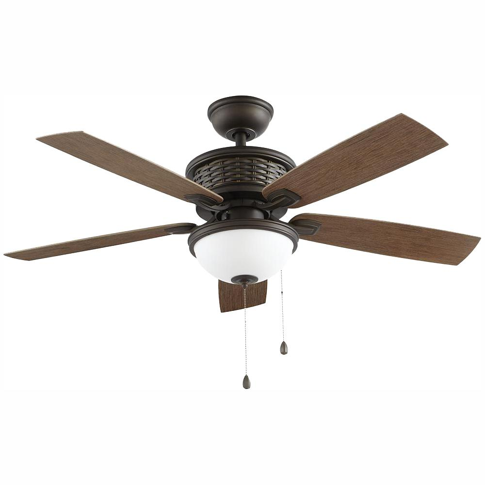 Home Decorators Collection Madreno 48 in. LED Indoor/Outdoor Oil Rubbed Bronze Ceiling Fan with Light Kit