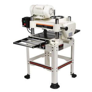 JET 230-Volt, JWP-16OS 3 HP 2-Speed Feed 16 inch Industrial Woodworking Planer with Open Stand by JET