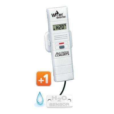 Add-On Temperature and Humidity Sensor with Water Leak Detector for Wireless Monitor Alerts System