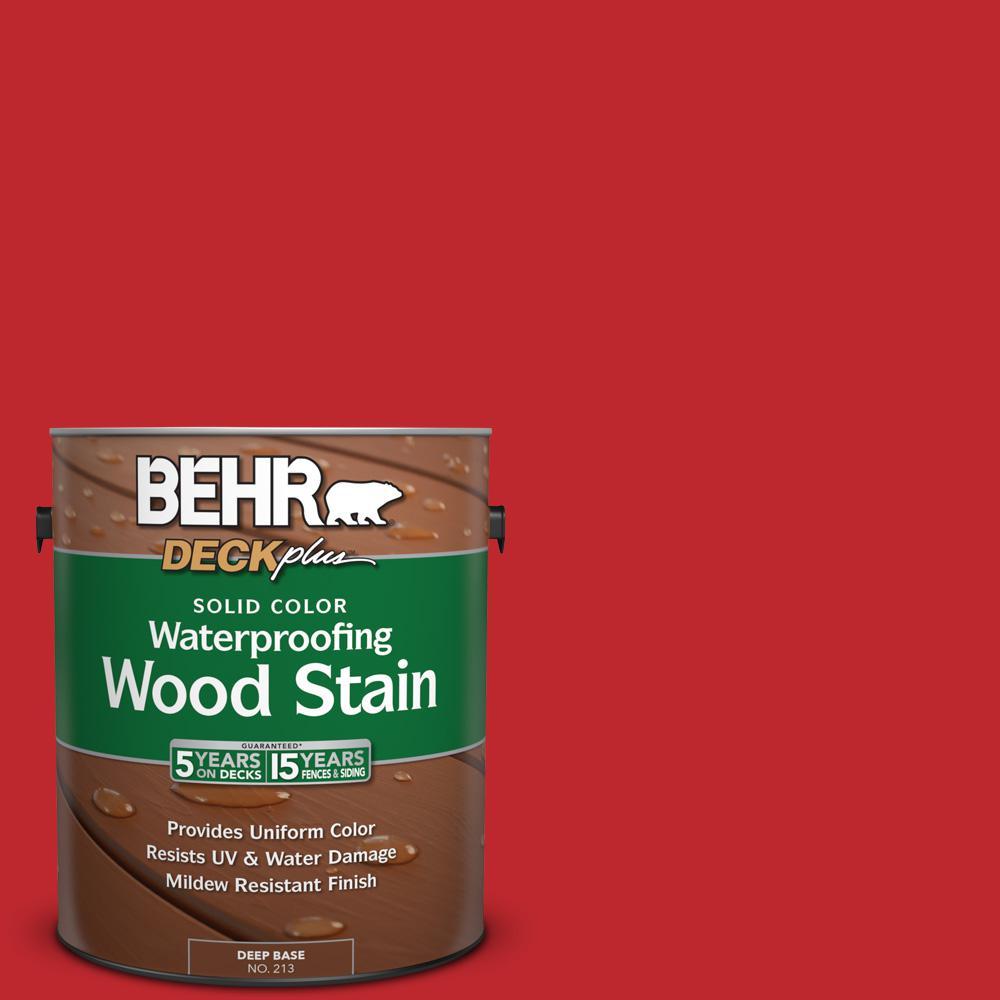 1 gal. #P150-7 Flirt Alert Solid Color Waterproofing Wood Stain