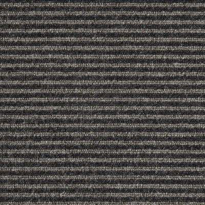 Carpet Sample - Straight N Narrow - Color Earl Grey Loop 8 in. x 8 in.