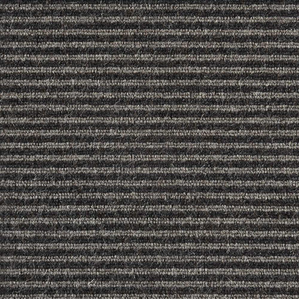 Carpet Sample - Straight N Narrow - Color Earl Grey Loop 8 in. x 8 in.