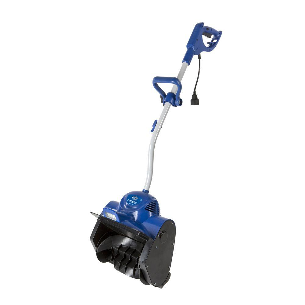 Snow Joe Plus 11 in. 10 Amp Electric Snow Blower Shovel with LED Light