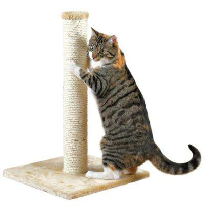 Beige Parla Cat Scratching Post