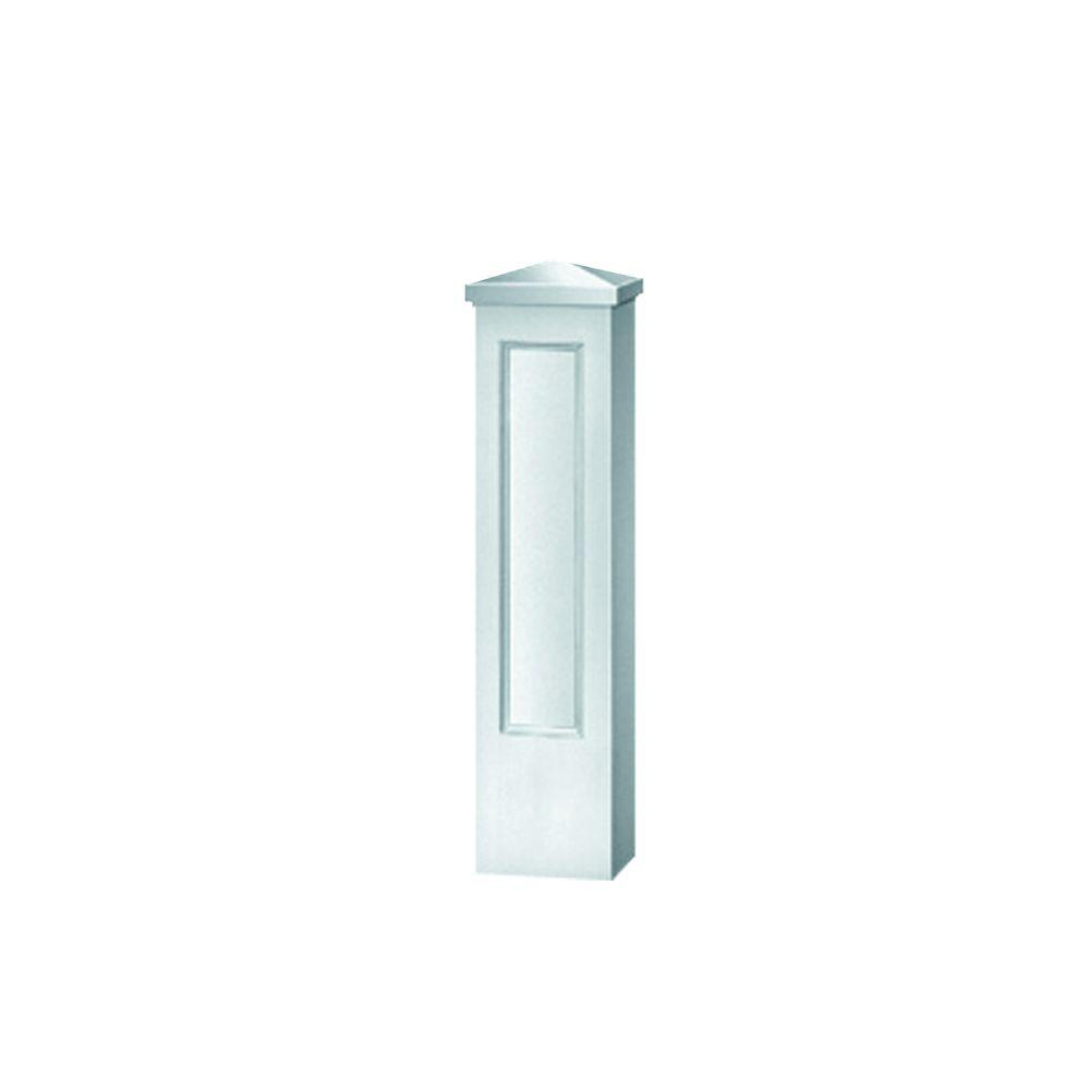 47-3/4 in. x 12-1/2 in. x 12-1/2 in. Polyurethane Straight Panel