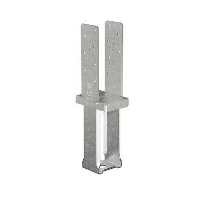 4 in. x 6 in. 12-Gauge Standoff Column Base with SDS Screws