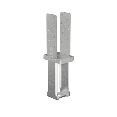 CBSQ Galvanized Standoff Column Base for 4x6 Nominal Lumber with SDS Screws