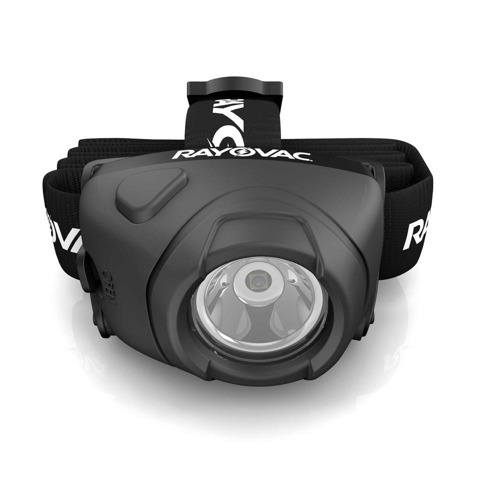 Rayovac 180 Lumens 3 AAA Indestructible High-Performance Head Light