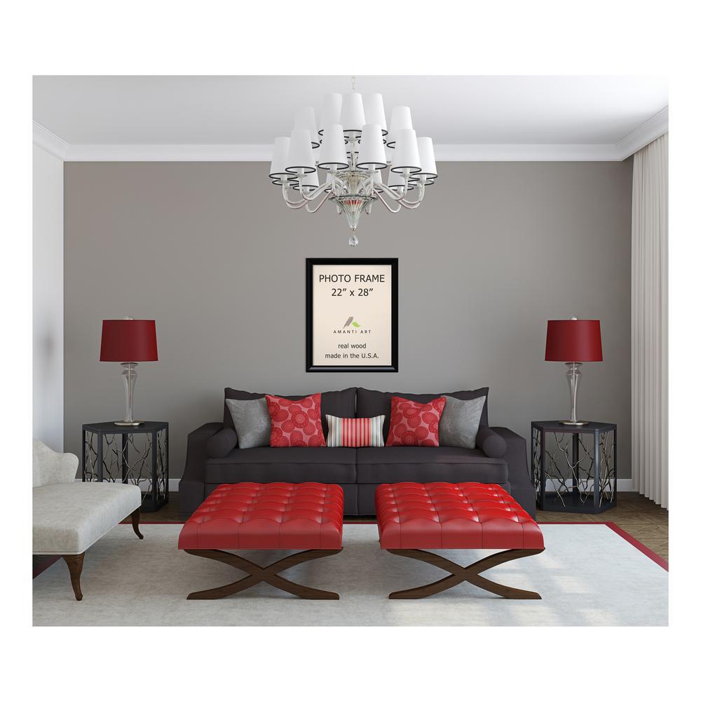 Amanti Art Steinway 22 In X 28 In Black Picture Frame Dsw1385343