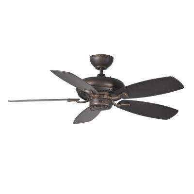 Designer Max II 44 in. Roman Bronze Ceiling Fan