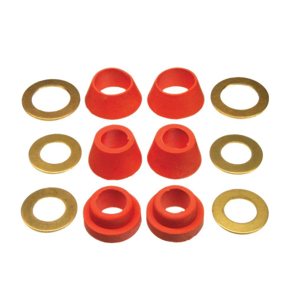 DANCO Assorted Cone Washers-88539 - The Home Depot
