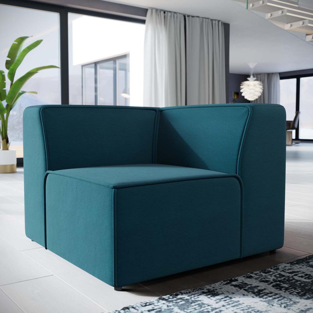 Modway Mingle Blue Corner Sofa