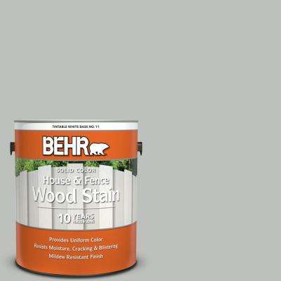 1 gal. #SC-365 Cape Cod Solid Color House and Fence Exterior Wood Stain