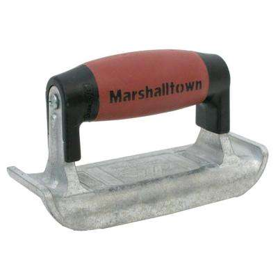 6 in. x 2-3/16 in. Zinc Edger with 1/4 in. Radius