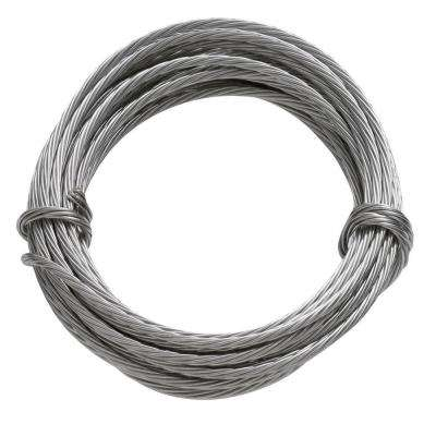 9 ft. 100 lb. Stainless Steel Hanging Wire