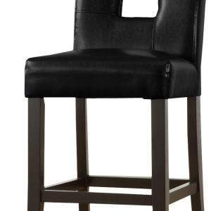 Prime Homesullivan 24 In Sorrento Black Cushioned Bar Stool Set Andrewgaddart Wooden Chair Designs For Living Room Andrewgaddartcom
