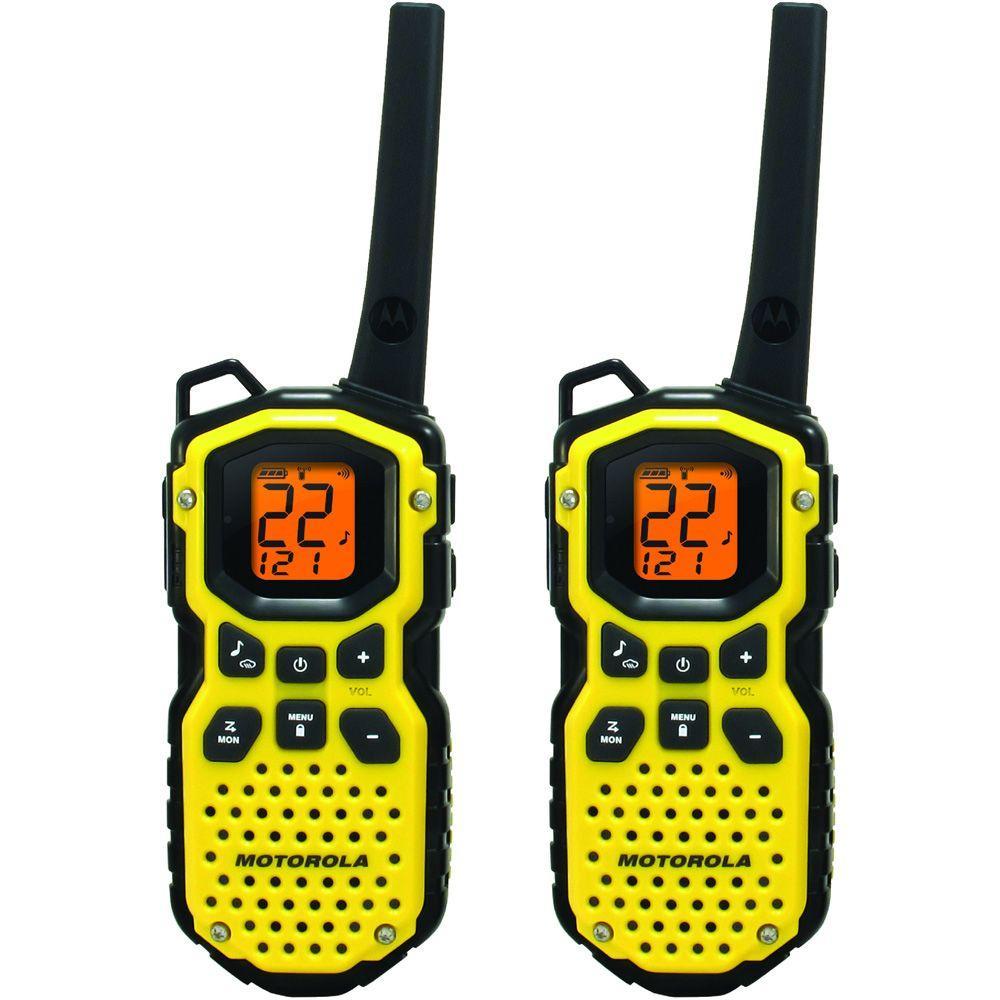 Motorola 35-Mile Range 22 Channel 2-Way Waterproof Radio-DISCONTINUED
