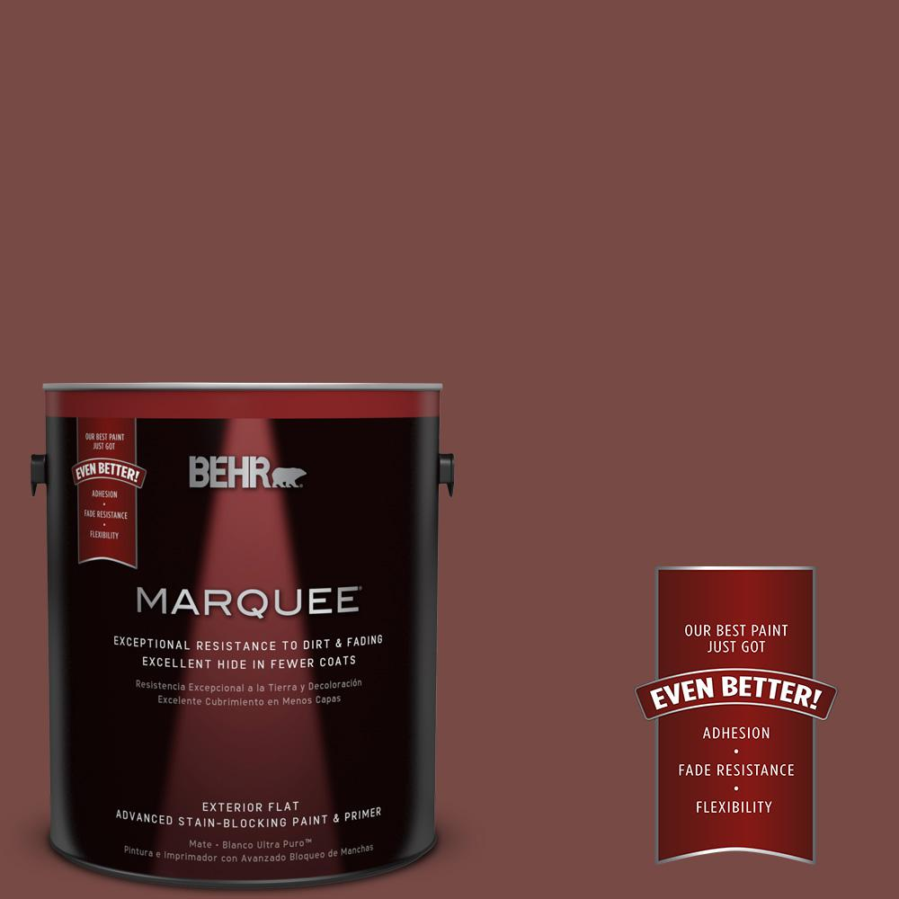 1-gal. #170F-7 Leather Bound Flat Exterior Paint
