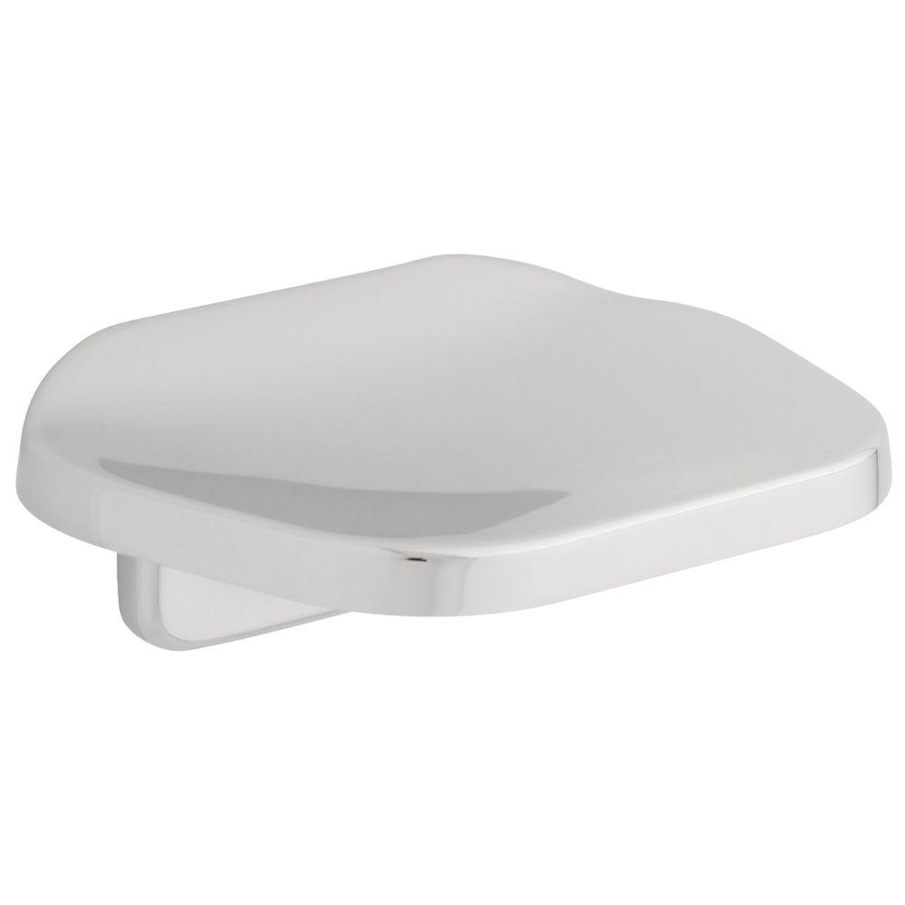 Futura Wall Mounted Soap Dish In Chrome