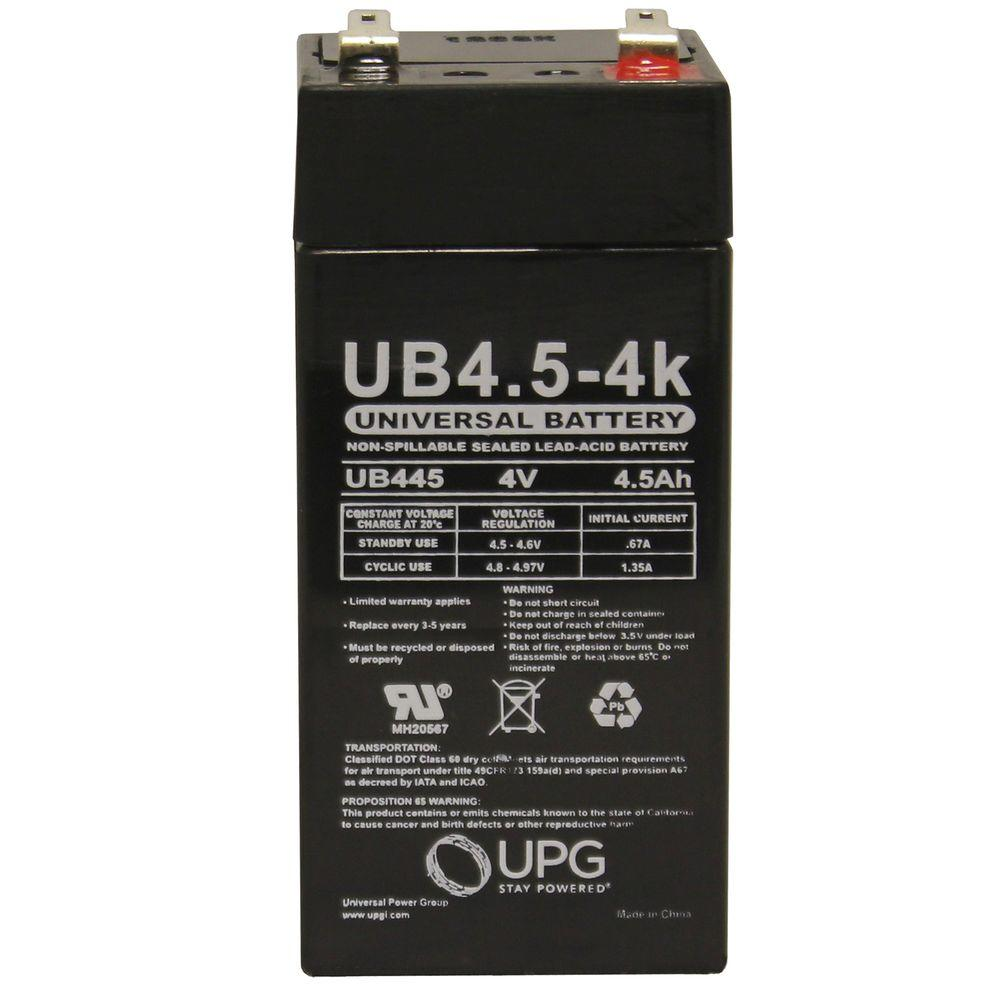 UPG SLA 4-Volt F2 Terminal Battery