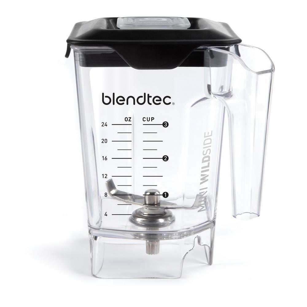 Mini Wildside 46 oz. Clear Blender Jar