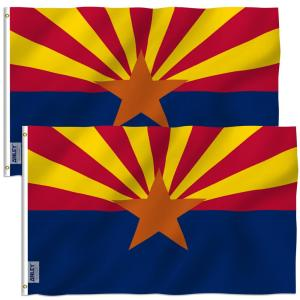 Annin Flagmakers Tough Tex 5 Ft X 8 Ft Polyester U S Flag For High Winds 2730 The Home Depot