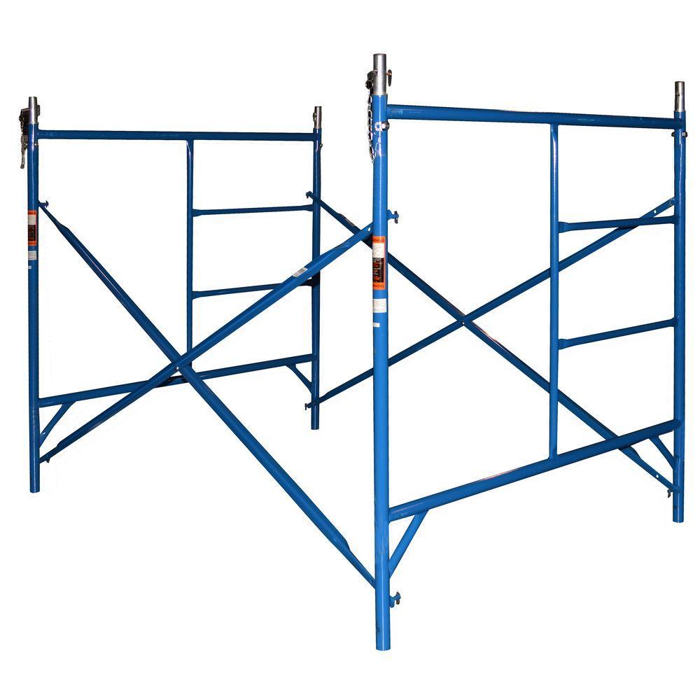 PRO-SERIES 5 ft. x 5 ft. Standard Exterior Scaffold Frame Set