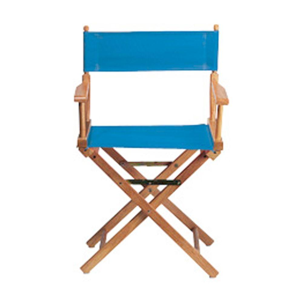 Home Decorators Collection Periwinkle Seat and Back for Director's Chair -Cover Only