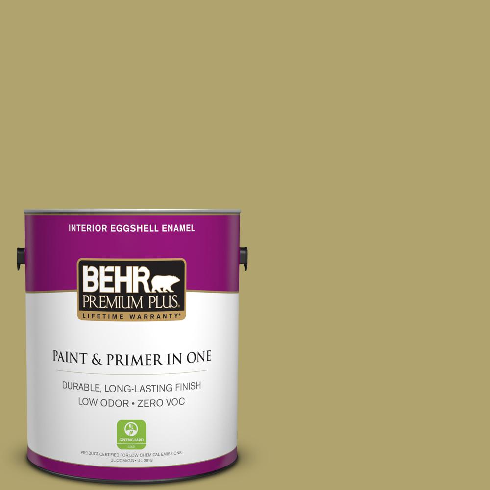 1-gal. #HDC-WR15-10 Green Bean Casserole Zero VOC Eggshell Enamel Interior Paint