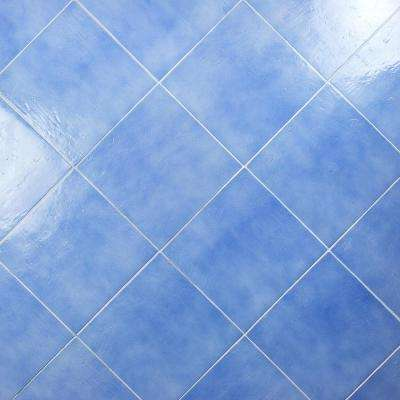 Appaloosa Baby Blue 14 in. x 14 in. 10mm Polished Porcelain Floor and Wall (8-piece 10.76 sq. ft. / box)