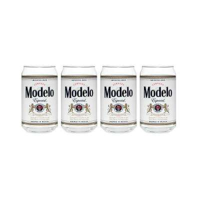 Modelo 16 oz. Can Glass (Set of 4)
