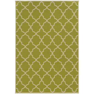 Newport Lime 9 ft. x 13 ft. Area Rug