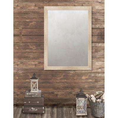 Harrington 35.125 in. x 47.125 in. Reclaimed Heritage Framed Antique Mirror
