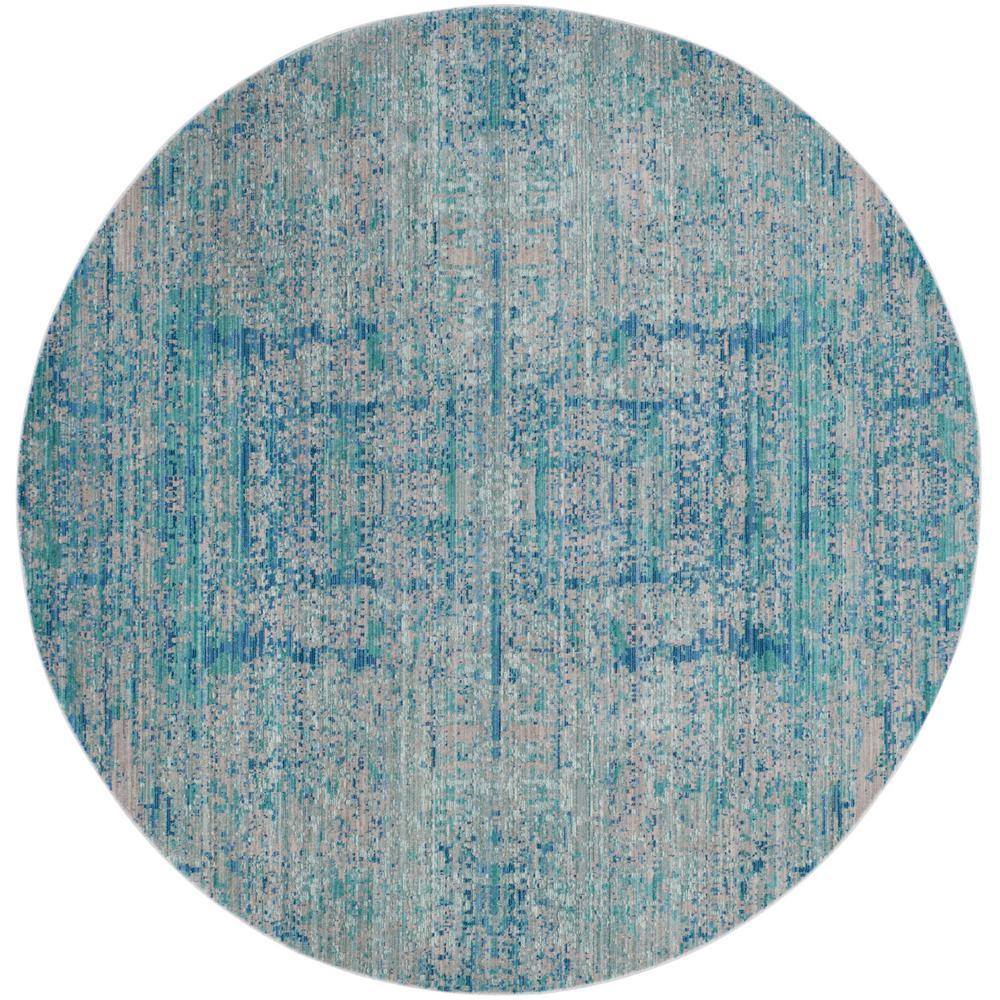 Safavieh Vintage Hamadan Orange Blue 6 Ft 7 In X 6 Ft 7