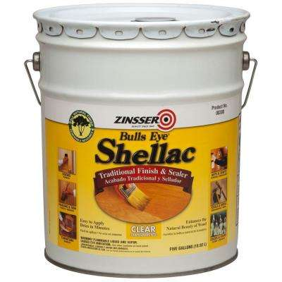 5 gal. Clear Shellac Traditional Finish and Sealer