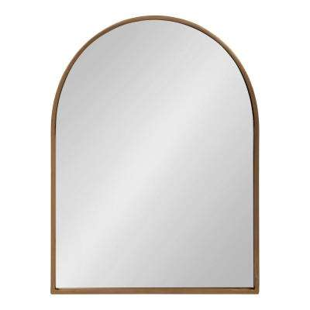 Valenti Arch Gold Wall Mirror