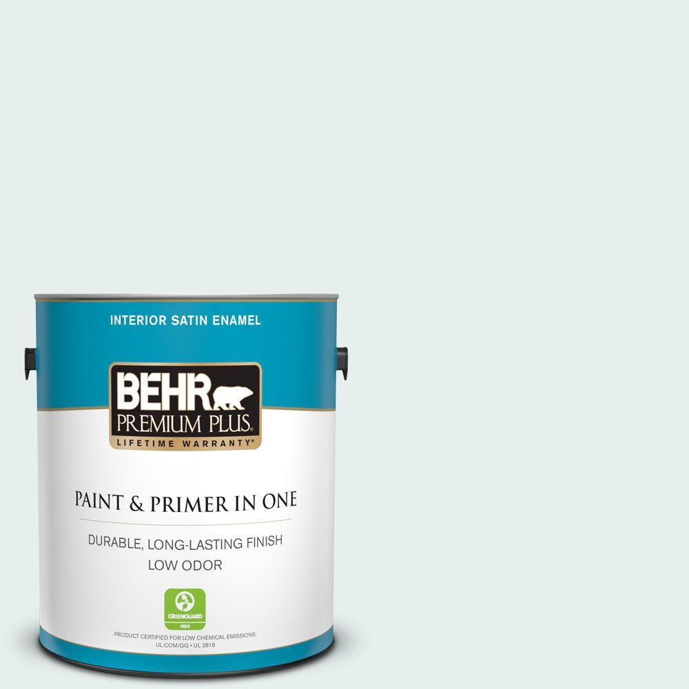 730e 1 Polar White Satin Enamel Low Odor Interior Paint And Primer In One