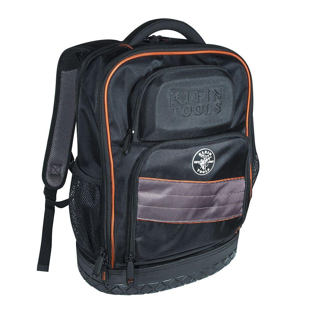 Klein Tools 14 in. Tradesman Pro Organizer Technichian's Jobsite Backpack with Laptop Pocket