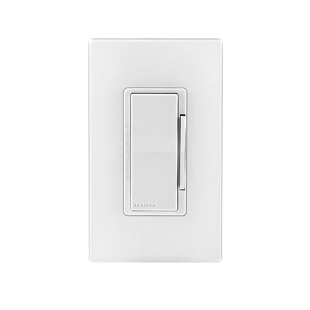 Leviton 120vac 60 Hz Decora Digital Smart Matching Dimmer How To Build 120 Vac Lamp Remote White Ivory