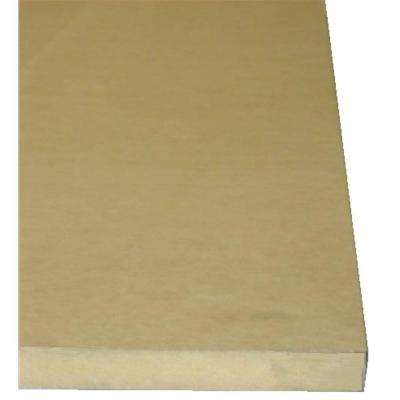 1/2 in. 2 ft. x 2 ft. Medium Density Fiber Board