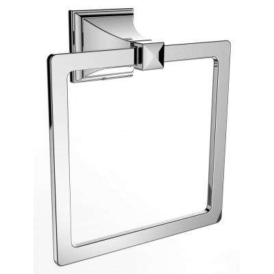 Rainier Wall-Mounted Towel Ring in Polished Chrome
