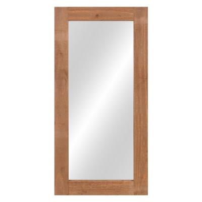 Large Rectangle Natural Hooks Mirror (40.25 in. H x 320 in. W)