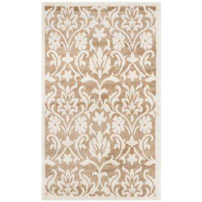 Amherst Wheat/Beige 4 ft. x 6 ft. Indoor/Outdoor Area Rug
