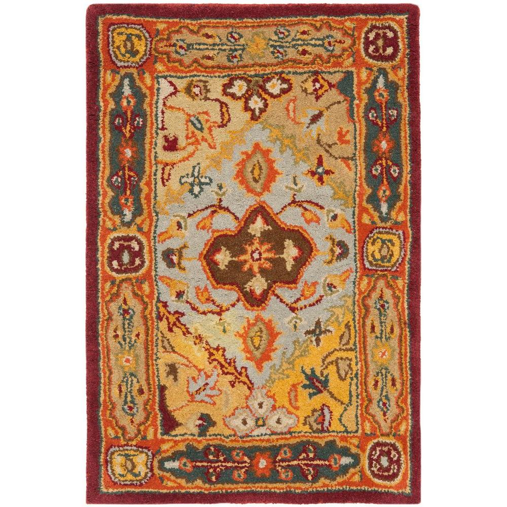 Heritage Multi 2 ft. 3 in. x 4 ft. Area Rug