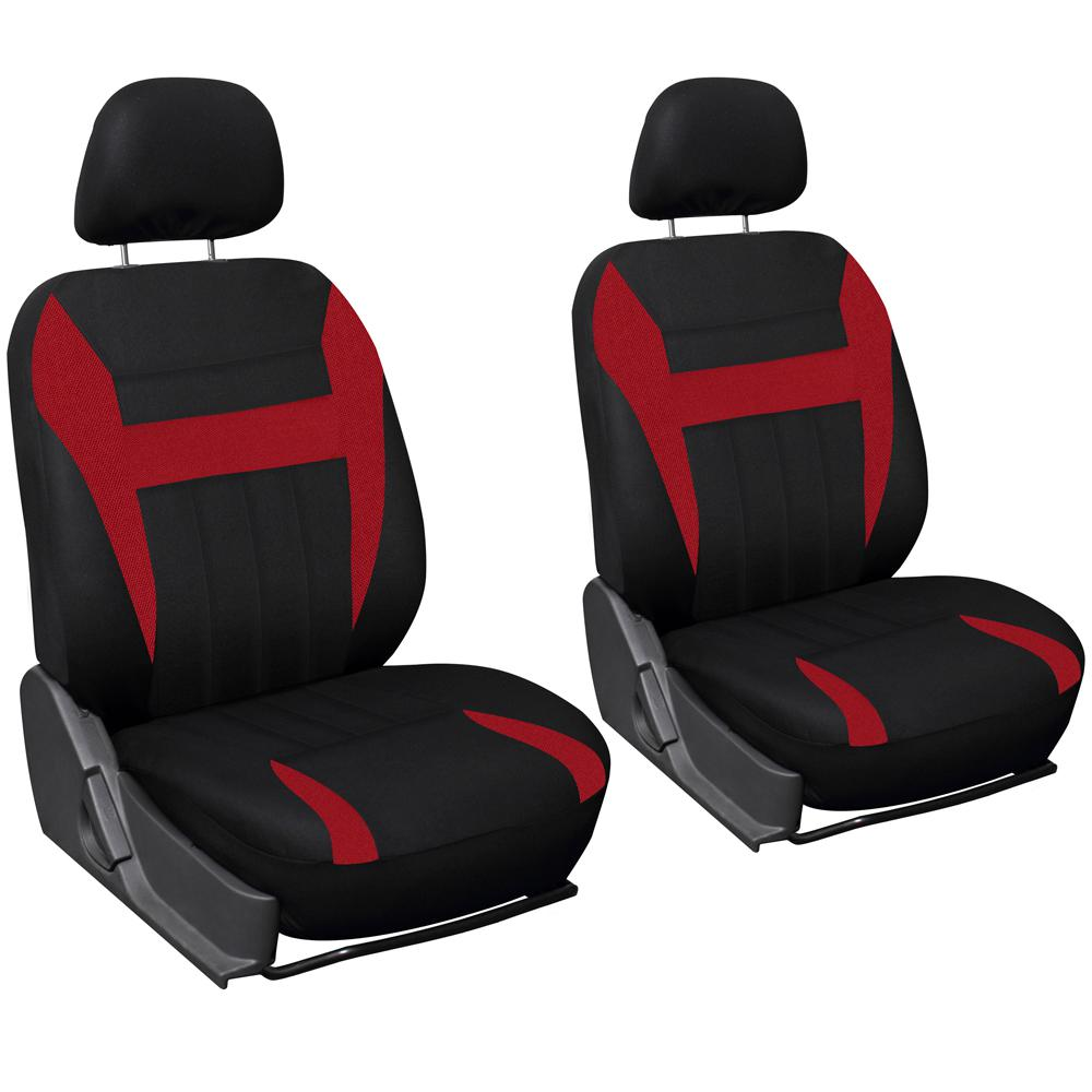 OxGord Polyester Seat Covers Set 26 In L X 21 W 48