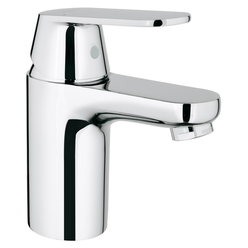 Eurosmart Cosmopolitan Single Hole Single-Handle Low-Arc Bathroom Faucet in